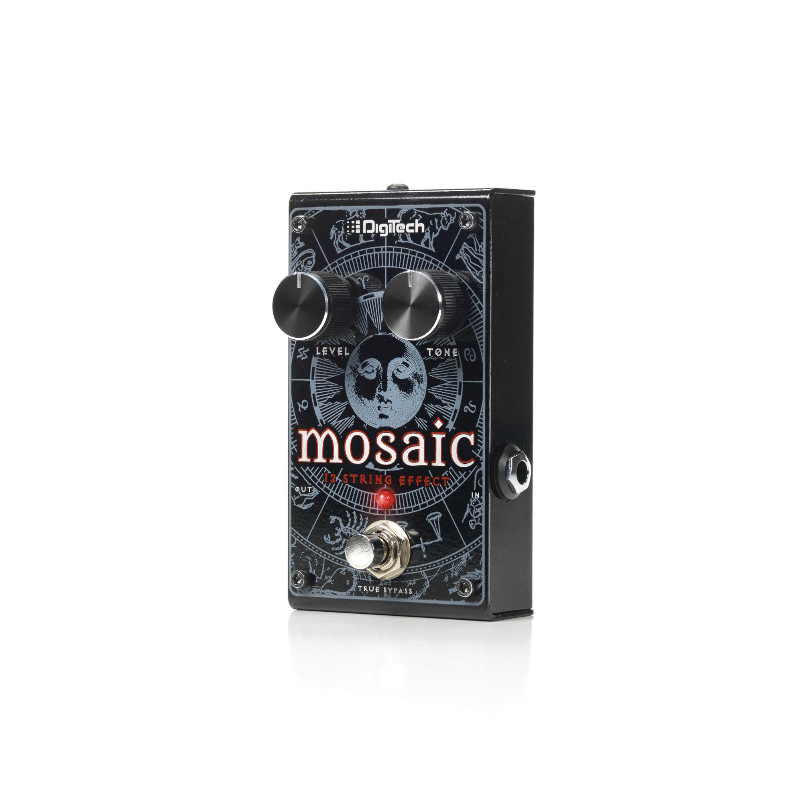 Mosaic - Black - Polyphonic 12-String Effect Pedal - Detailshot 3