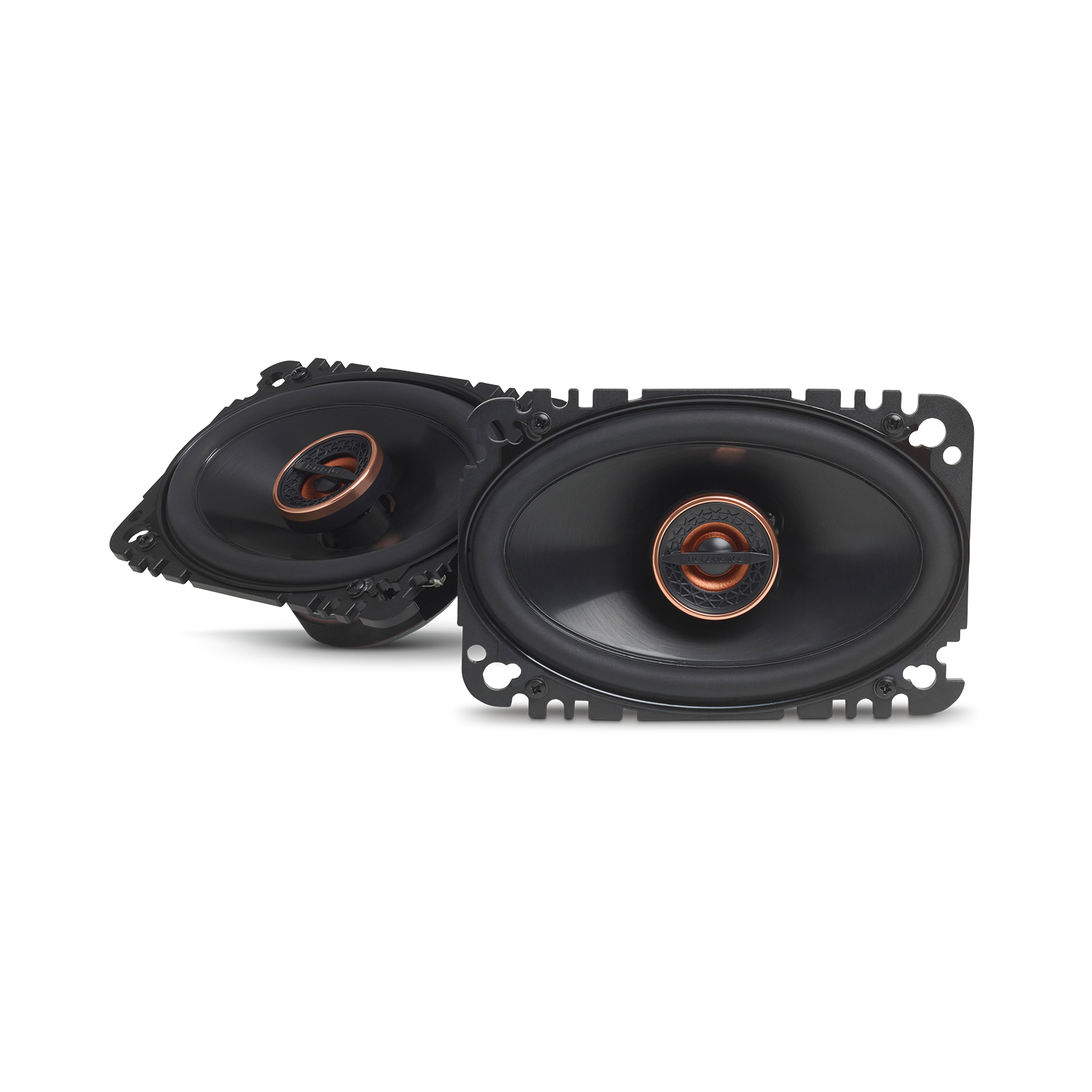 "Reference 6432cfx - Black - 4"" x 6"" (100mm x 152mm) coaxial car speaker, 135W - Hero"