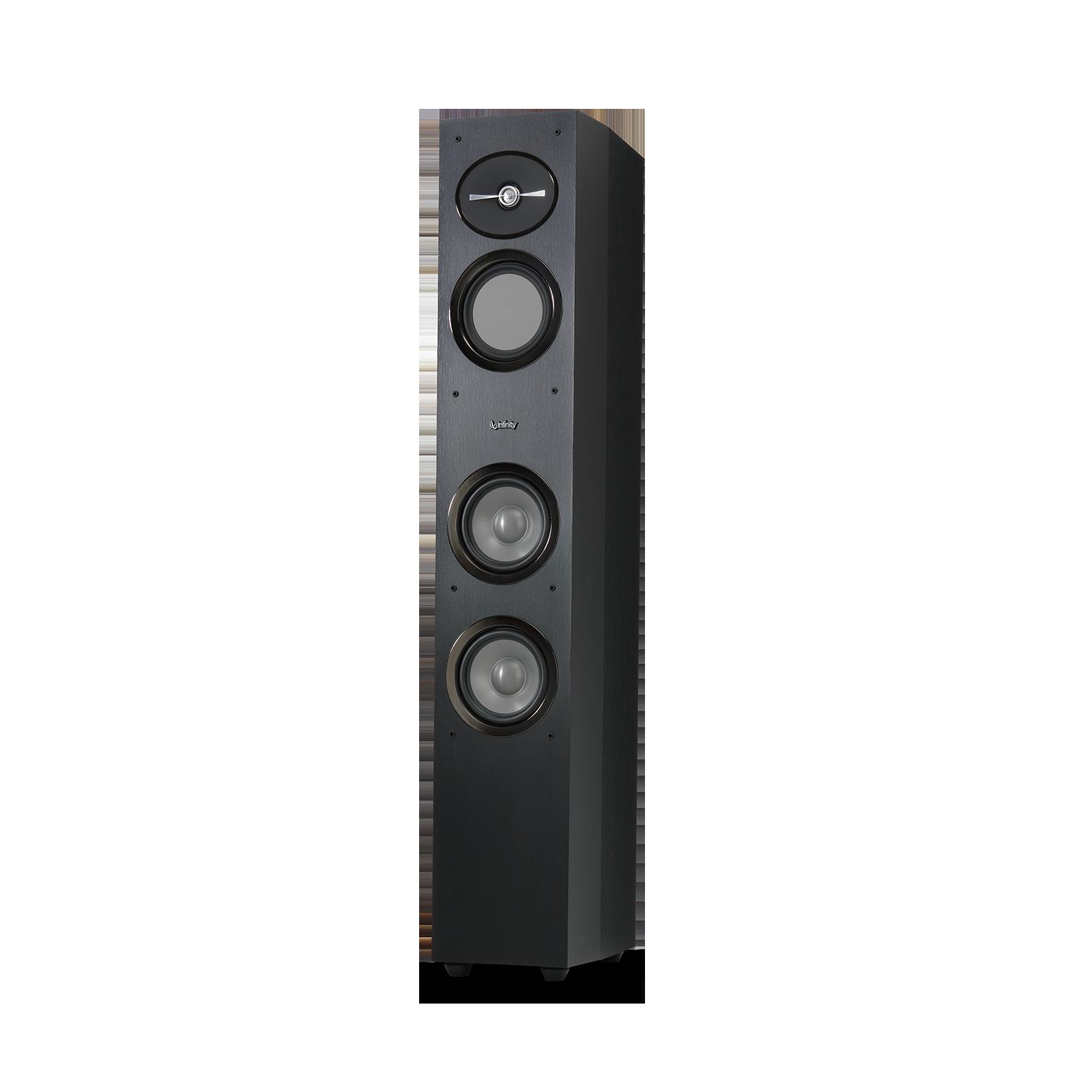 "Reference 253 - Black - 5-1/4"" 3-Way Floorstanding Loudspeaker - Detailshot 1"