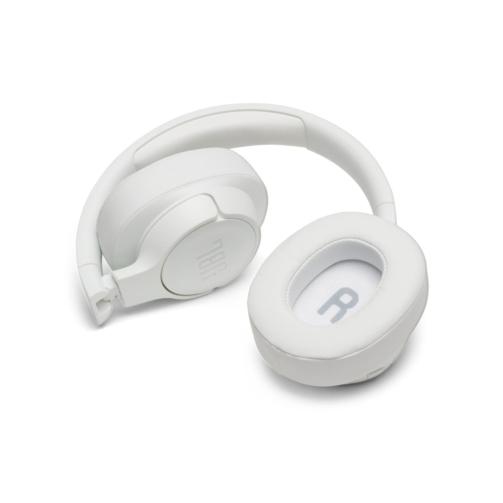 JBL TUNE 750BTNC - White - Wireless Over-Ear ANC Headphones - Detailshot 5
