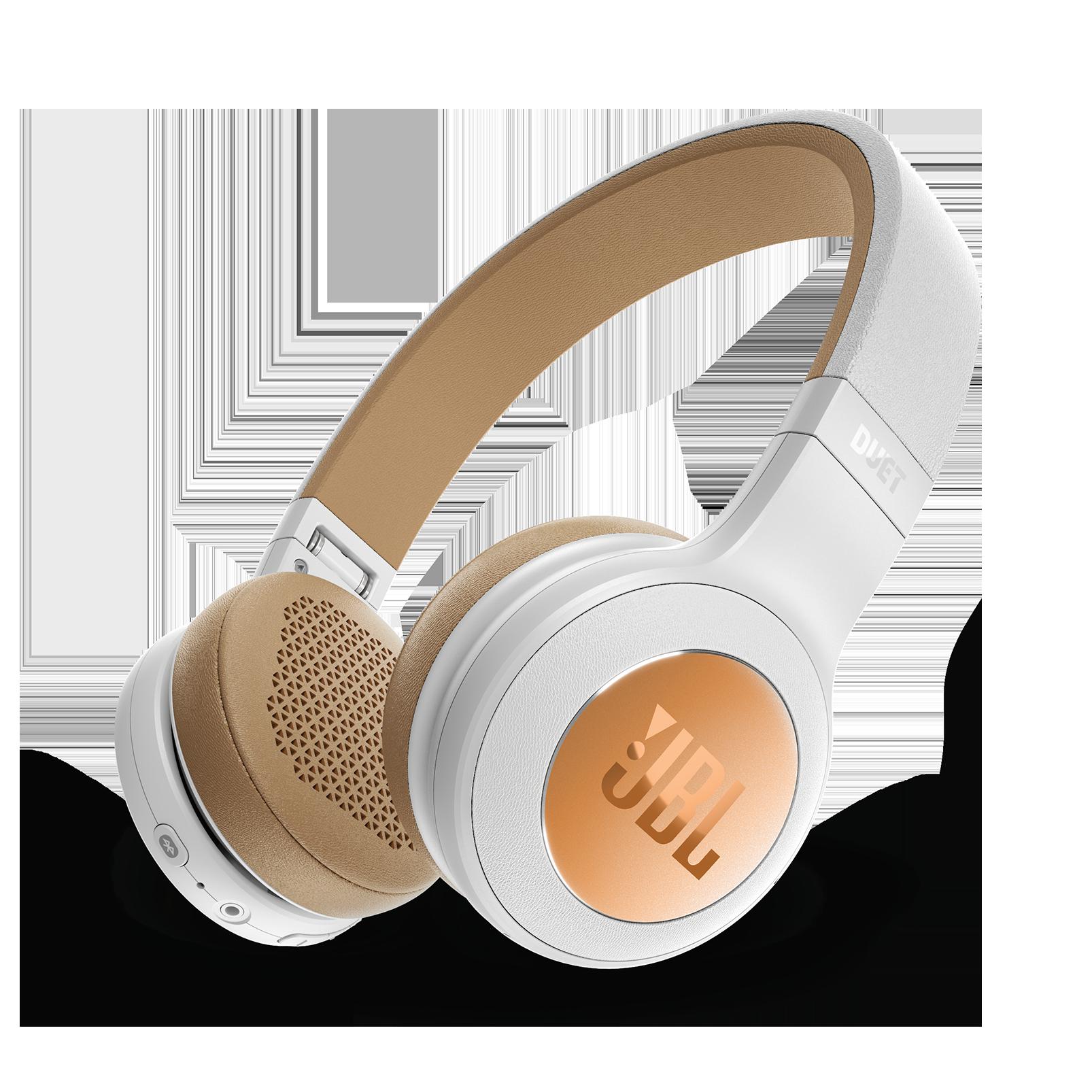 JBL Duet BT - Silver - Wireless on-ear headphones - Hero